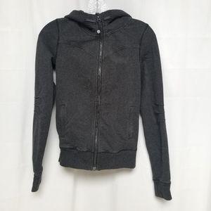 Lululemon Grey Zip Up Jacket 4